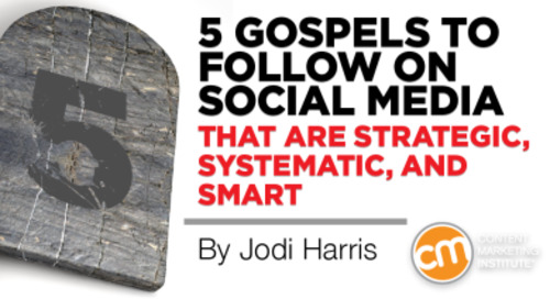 Five Gospels to Follow on Social Media that are Strategic, Systematic and Smart
