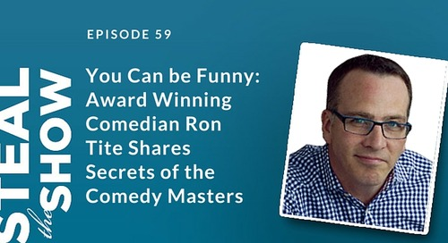 You Can Be Funny - Steal the Show EP059