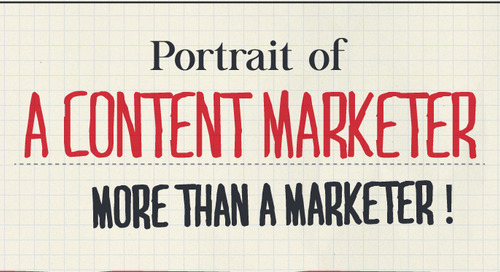 Stuff We Love: Portrait of a Content Marketer - More Than a Marketer [Infographic]
