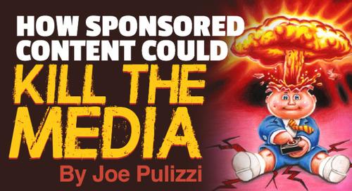 Sponsored Content Might Kill The Media