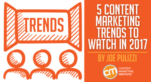 Content Marketing Trends for 2017