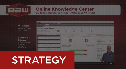Training Videos: the B2W Online Knowledge Center