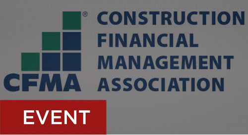 CFMA Annual Conference - May 30 - June 3, 2020