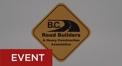 B.C. Road Builders September 15-17, 2019