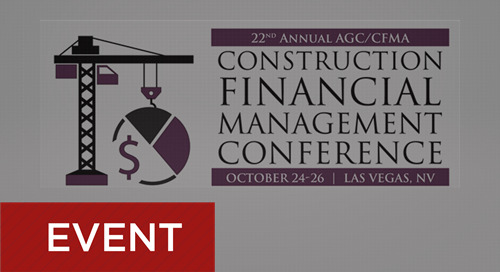 AGC/CFMA Conference October 24-26, 2018