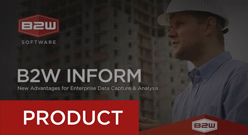 Unlocking the Power of Enterprise Data with B2W Inform