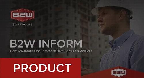 Unlocking the Power of Enterprise Data with B2W Inform