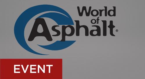 World of Asphalt February 12-14, 2019