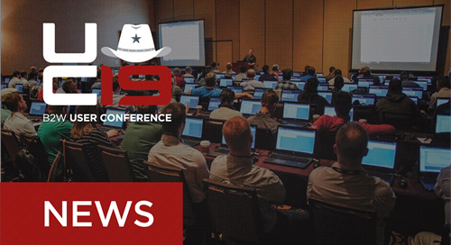 B2W Announces 2019 User Conference March 3-5