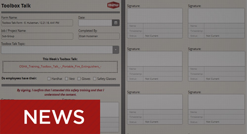 New e-Form Template Library Available for B2W Inform