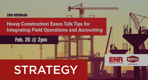 Recorded Webinar - A Software Model to Connect Operations & Accounting