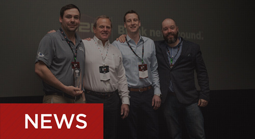 Three Contractors Earn B2W Client Innovation Awards