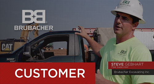 Brubacher Excavating: Real-time Field Data with B2W Track