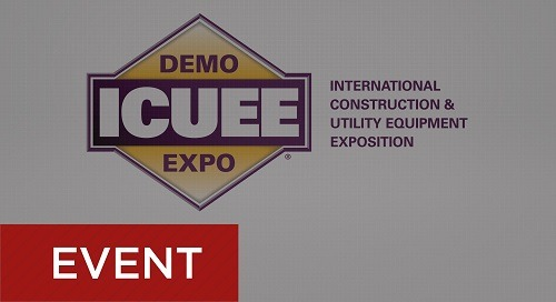 International Construction & Utility Equipment Expo - Oct. 1-3