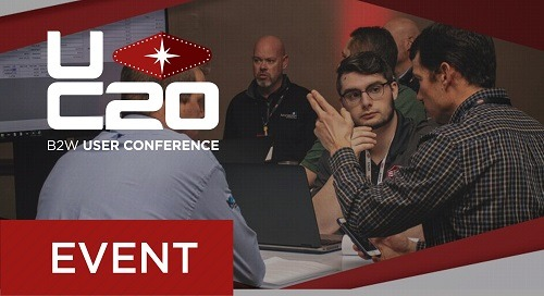 B2W User Conference 2020 - Brochure