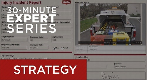 Webcast April 23 - Better Safety Management with Electronic Forms and Reporting