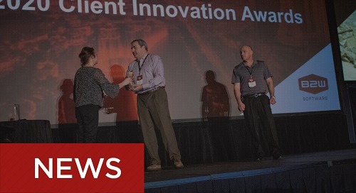 B2W 2020 Client Innovation Awards Presented