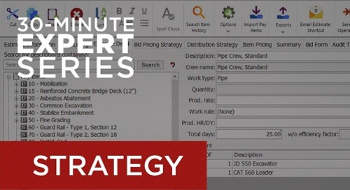 Recorded Webcast – Setting Up the Most Effective Cost Code Structure