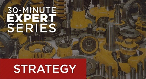 Webcast August 20 - Managing Parts & Inventory with Maintenance Software