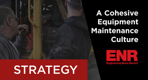 Webcast Dec. 8 - Creating a Cohesive Equipment Maintenance Culture