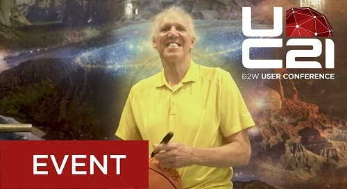 Guest Speaker Bill Walton Invites You to the User Conference