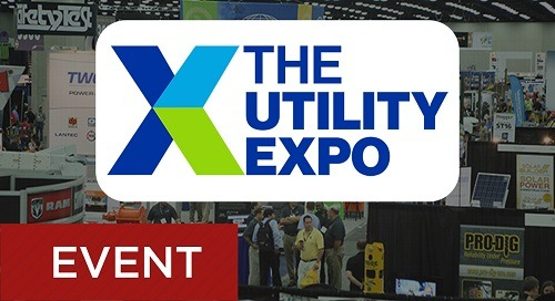 The Utility Expo (Previously ICUEE) Sept. 28-30, 2021