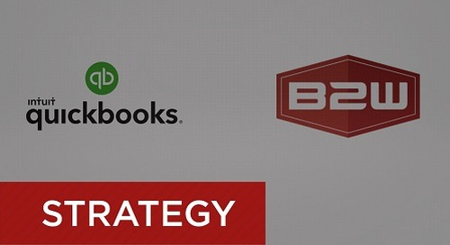 QuickBooks Integration with B2W for Estimating and Operations
