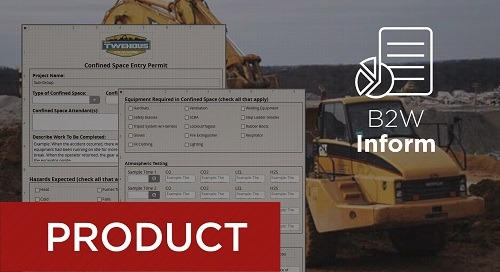 Recorded Webcast - B2W Inform in Action at Twehous Excavating