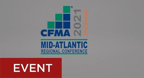 CFMA Mid-Atlantic Conference - September 19-20, 2021