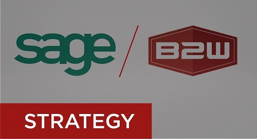 Sage 300 CRE Integration with B2W for Estimating and Operations