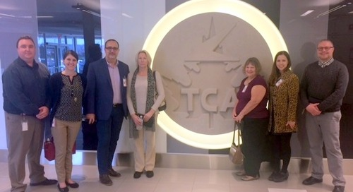 Travel and Transport international travel counselors visit Air Canada