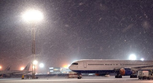 Winter storm tips for business travelers