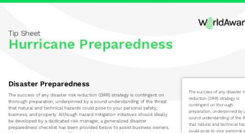 Hurricane Preparedness Tips - WorldAware