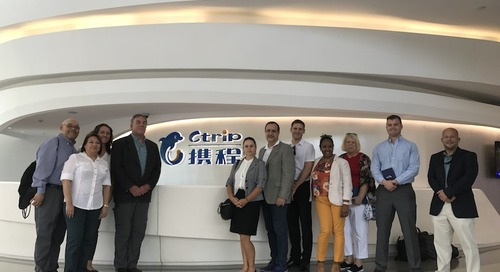 Our international travel counselors' educational trip to China