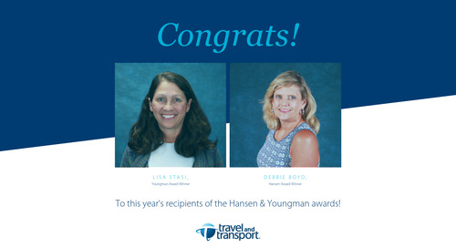 Travel and Transport Recognizes Employees With Hansen, Youngman Awards