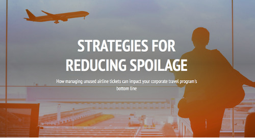 Strategies for Reducing Unused Airline Ticket Spoilage