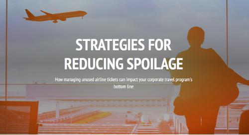 Strategies for Reducing Unused Airline Ticket Spoilage