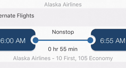 Dash Mobile: Alternate Flights