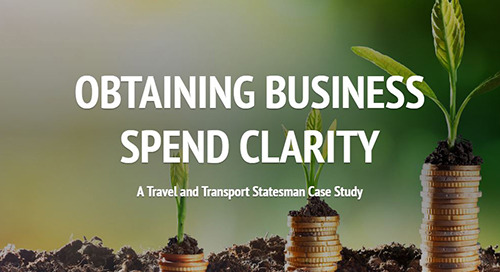 Case Study: Obtaining business travel spend clarity