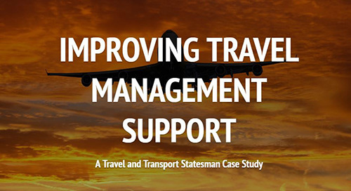 Case Study: Improving travel management support