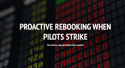 Case Study: Proactive Rebooking When Pilots Strike