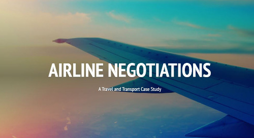 Case Study: Airline Negotiations