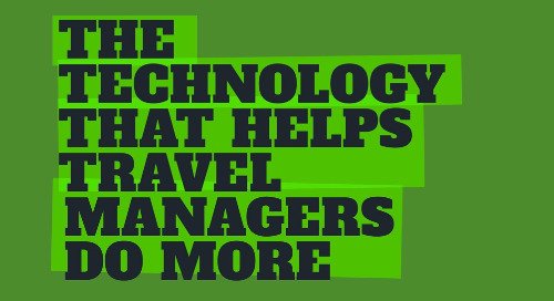 Technology that Helps Travel Managers Do More