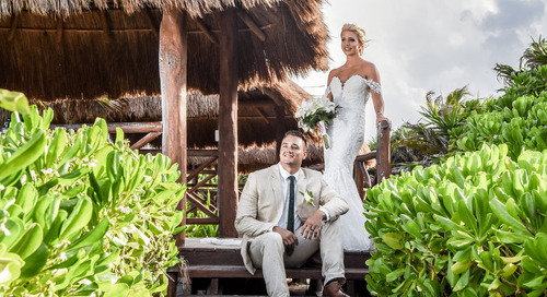 Destination Wedding in Tulum is a Wray of Sunshine in an Otherwise Dark Year
