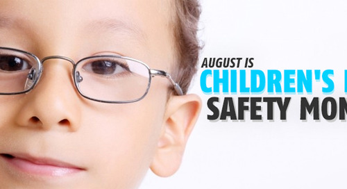 Take Care of Your Children's Eyes this August