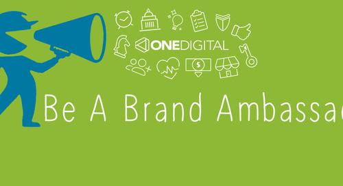 September - Be a Brand Ambassador