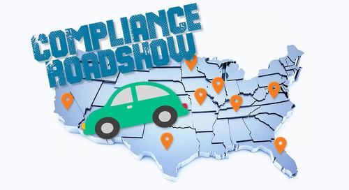 Compliance Roadshow Update
