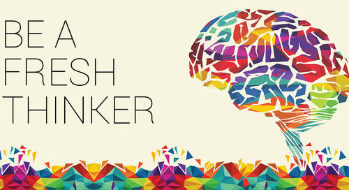 October - Be a Fresh Thinker