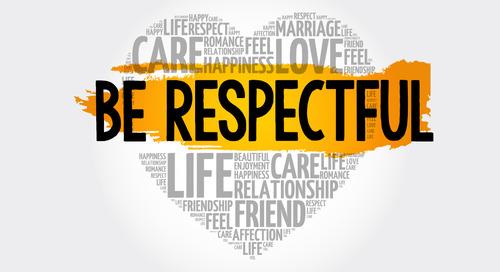 November - Be Respectful