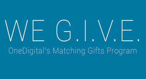 Don't Forget to G.I.V.E.